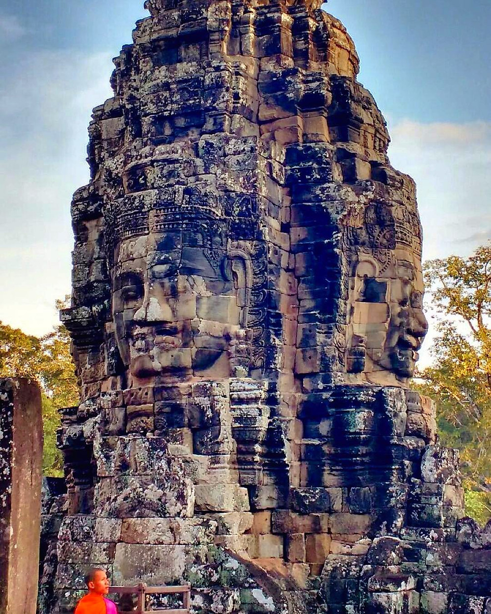 The Enigmatic Faces of Bayon