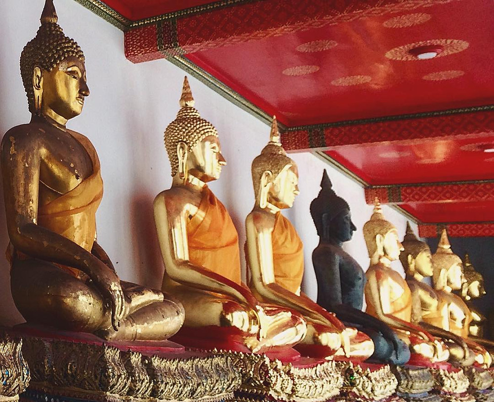 Buddha Images from Chiangsen, Ayutthaya, and other periods