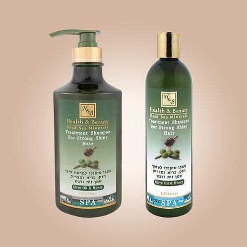 Oliivi-hunaja -shampoo