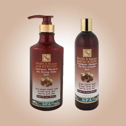 Arganöljy-shampoo