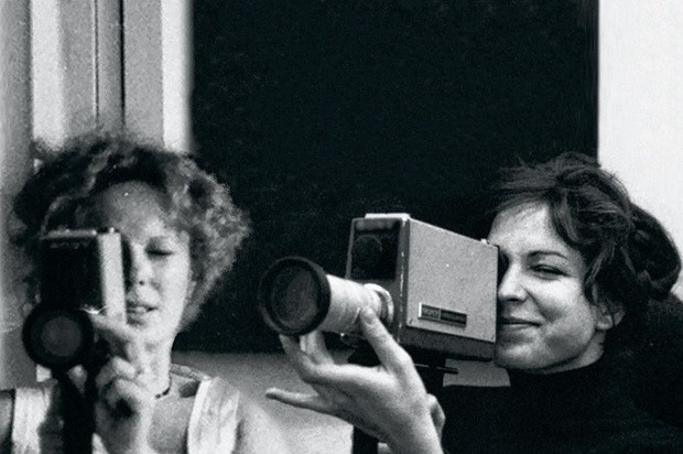 Delphine Seyrig and Carole Roussopoulos