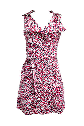 Trench Dress - Cerejas