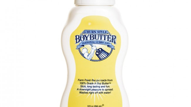 Boy Butter Original Squeeze Transparent 9oz