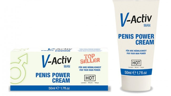 Hot V-Activ Penis Power Cream 50ml