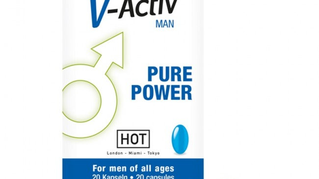 Hot V-Activ Caps For Men 20 capsules