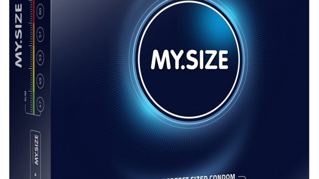 My Size 36 Pack Lubricated Condoms Transparent 69mm