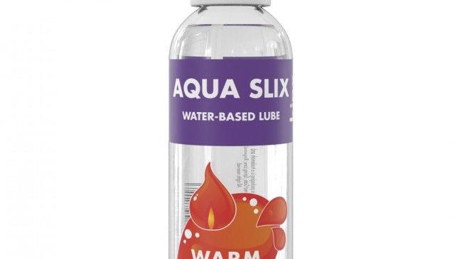 Kinx Aqua Slix Warming Water-Based Lubricant Transparent 100ml