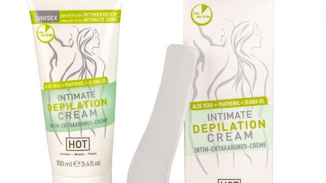 Hot Intimate Depilation Cream 100ml