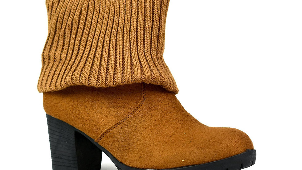 LBO-5670 LADIES CALF ANKLE BOOT