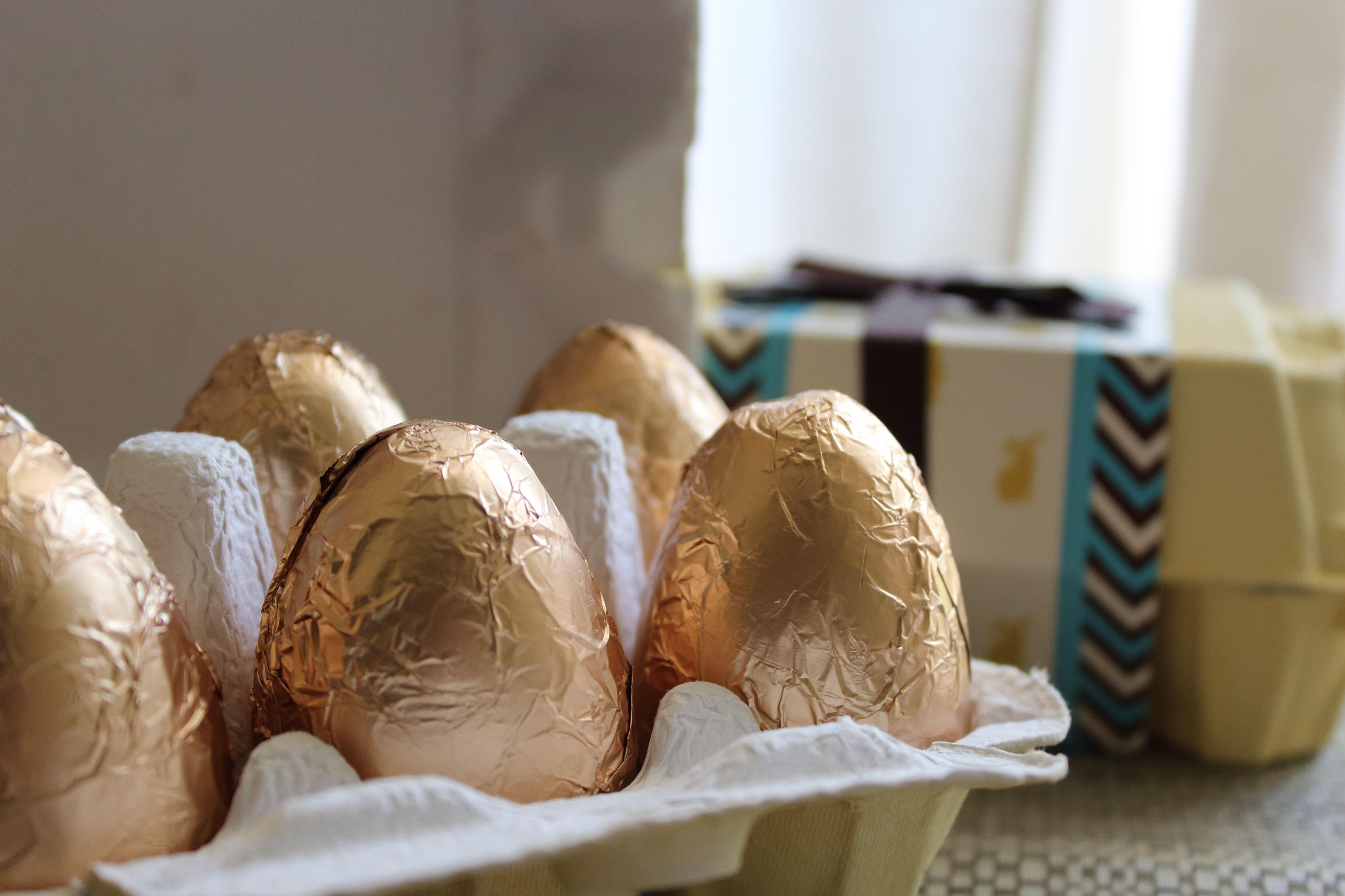 Ovos da Galinha de Páscoa