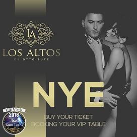 LOS ALTOS NEW YEAR'S EVE | BARCELONA NIGHTLIFE | BARCELONA PARTIES