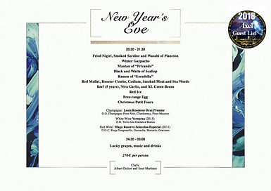 TORRE DE ALTA MAR NEW YEAR'S EVE | BARCELONA NIGHTLIFE | BARCELONA PARTIES