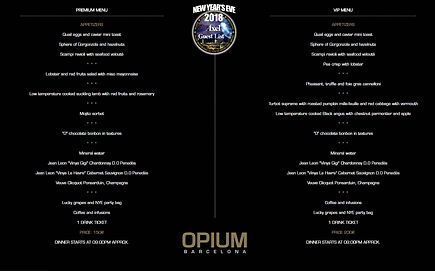 OPIUM NEW YEAR'S EVE | BARCELONA NIGHTLIFE | BARCELONA PARTIES