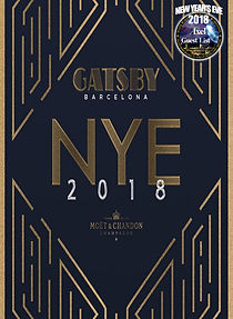 GATSBY NEW YEAR'S EVE | BARCELONA NIGHTLIFE | BARCELONA PARTIES