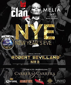 MELIA SKY NEW YEAR'S EVE | BARCELONA NIGHTLIFE | BARCELONA PARTIES