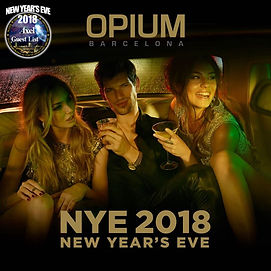 OPIUM NEW YEAR'S EVE | BARCELONA NIGHTLIFE | BARCELONA PARTIES