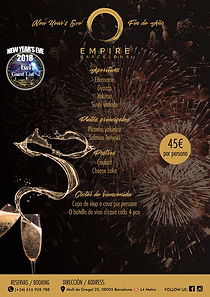 EMPIRE BARCELONA NEW YEAR'S EVE | BARCELONA NIGHTLIFE | BARCELONA PARTIES