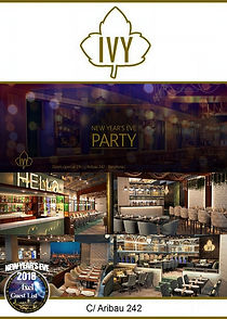 IVY LOUNGE NEW YEAR'S EVE | BARCELONA NIGHTLIFE | BARCELONA PARTIES
