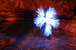 Lightpainting à Frontenac