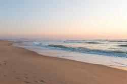 Dans les Landes, plage de Seignosse
