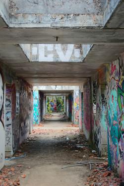 le couloir de la...