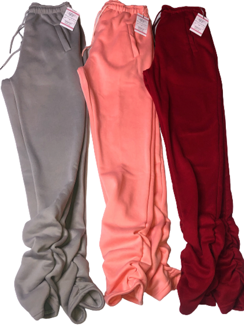 Stacked Joggers (thick style) preorder