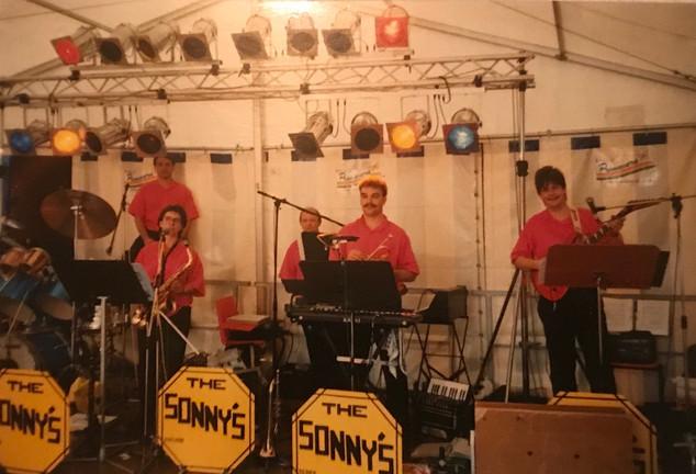 mit THE SONNY's 1989