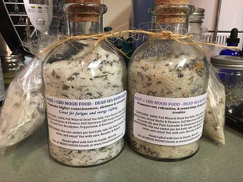 Dead Sea Bath Salts -/+ CBD Oil
