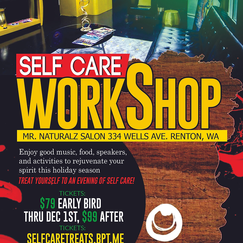 POC Healers Self Care Work Shop Party