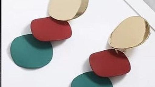 Multi coloured  earrings