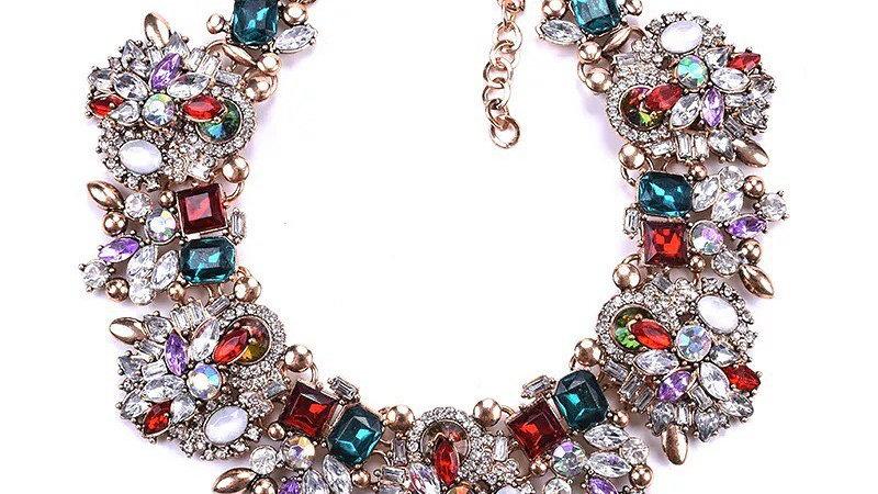 multicolured necklace
