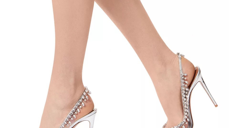 Silver shoes 39