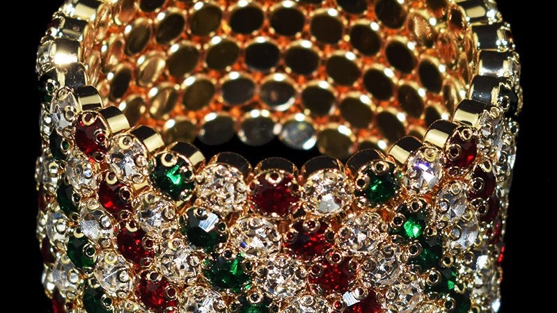 Multi coloured bracelet