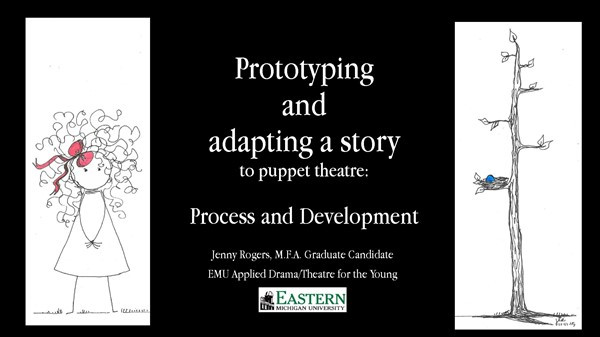 Prototyping and adapting a story to pupp