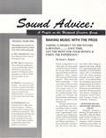 Sound Advice article