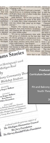Pit & Balcony Summer Theatre Program