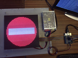 Using tight pitch LED Matrix with RPi | Raysberrypi