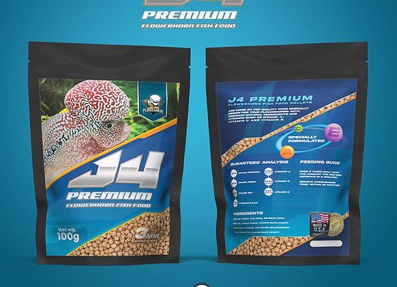 J4 Flowerhorn Food Premium Pellets [ Free Shipping ]