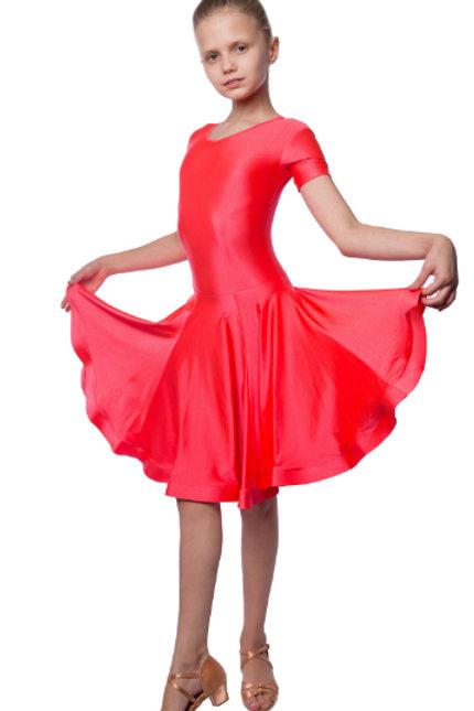 Платье рейтинговое из лайкры с регилином