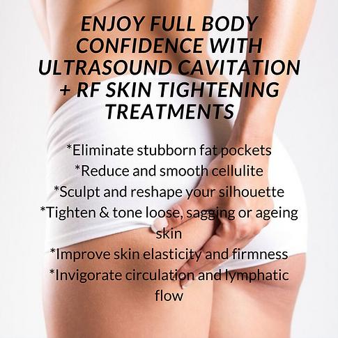 enjoy full body confidence with Ultrasou