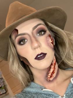 Freddy Kreuger Halloween Makeup