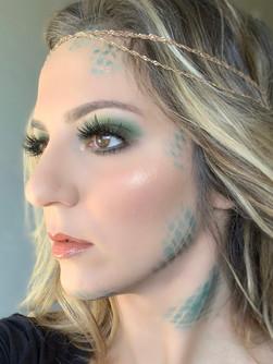 Glamorous Mermaid Makeup (Halloween)