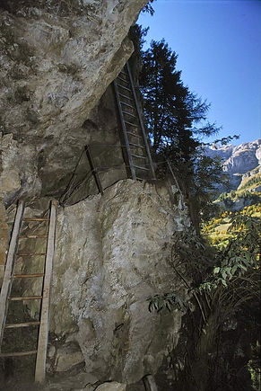 oldest Via Ferrata Switzerland