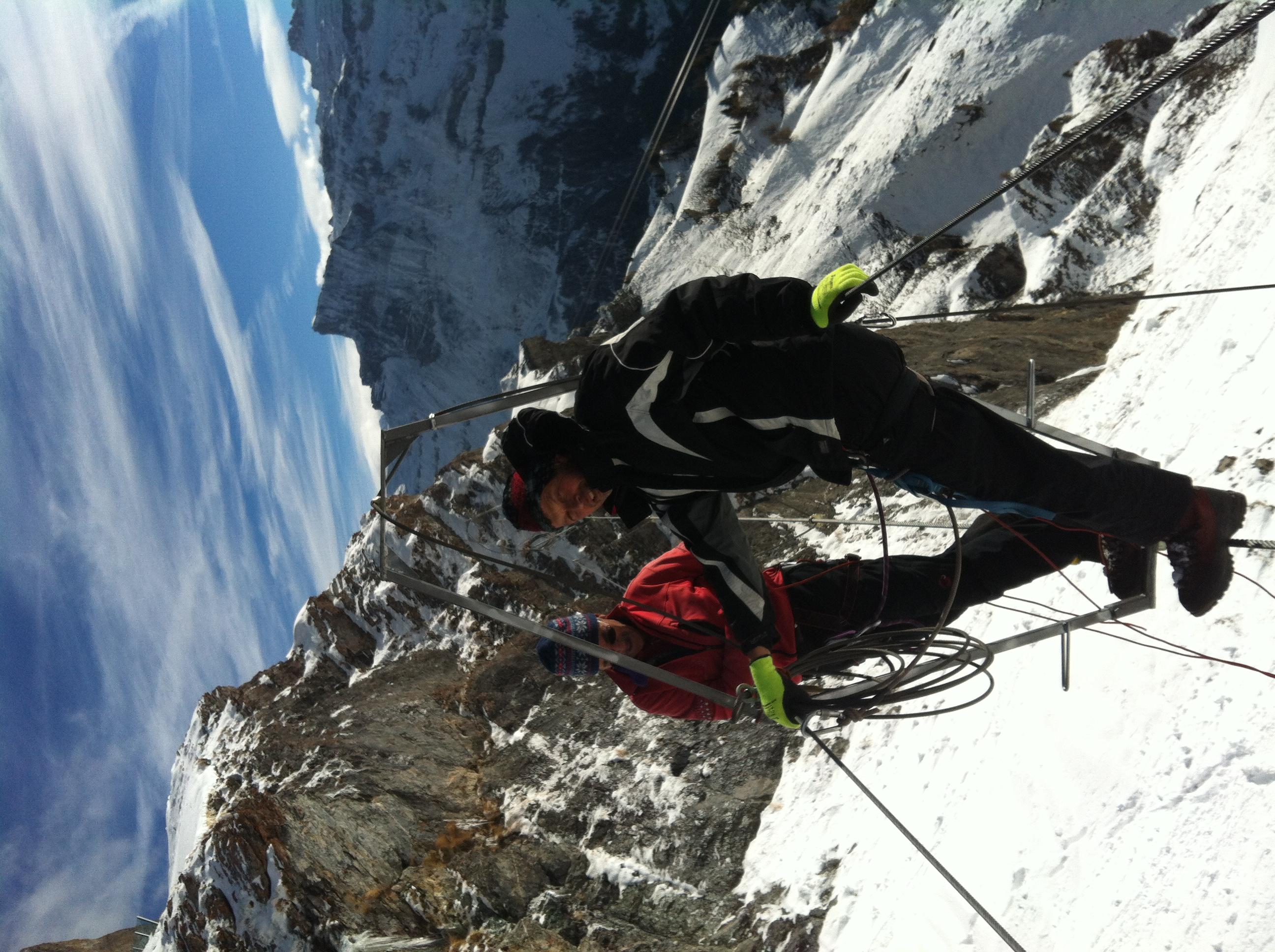 Klettersteig Wallis : Informationen klettersteig via ferrata leukerbad wallis schweiz