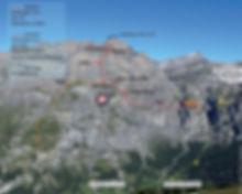 Klettersteig Route Daubenhorn