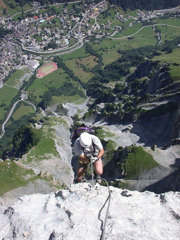 Via Ferrata Leukerbad Switzerland
