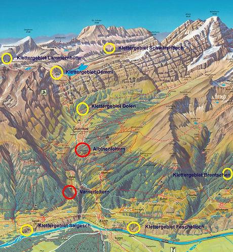 Klettern - Climbing Leukerbad