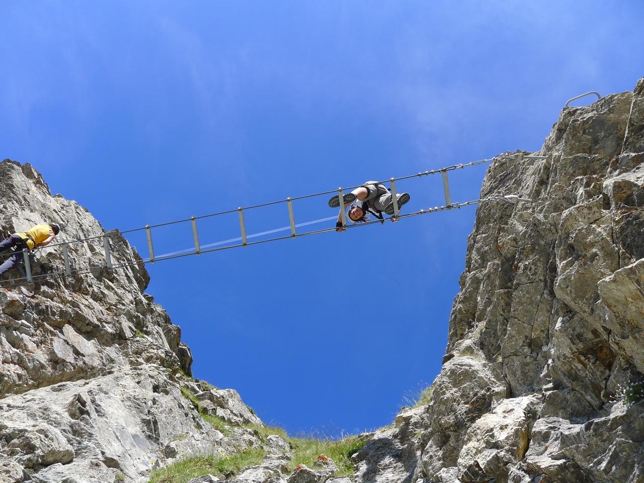 Klettersteig Leukerbad