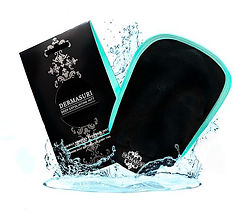 Exfoliate, self tanneDermasuri Deep Exfoliating Mitt,