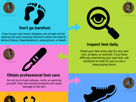 5 Tips to Prevent Diabetic Foot Complications